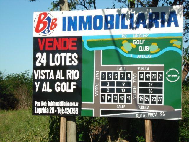"Loteo "" Terrazas del Golf"""