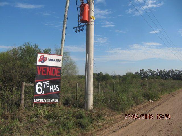 Campo 6,7 Has- Inversión- Posterior Loteo